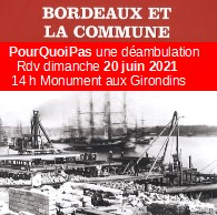Déambulation La Commune De Paris Et Bordeaux