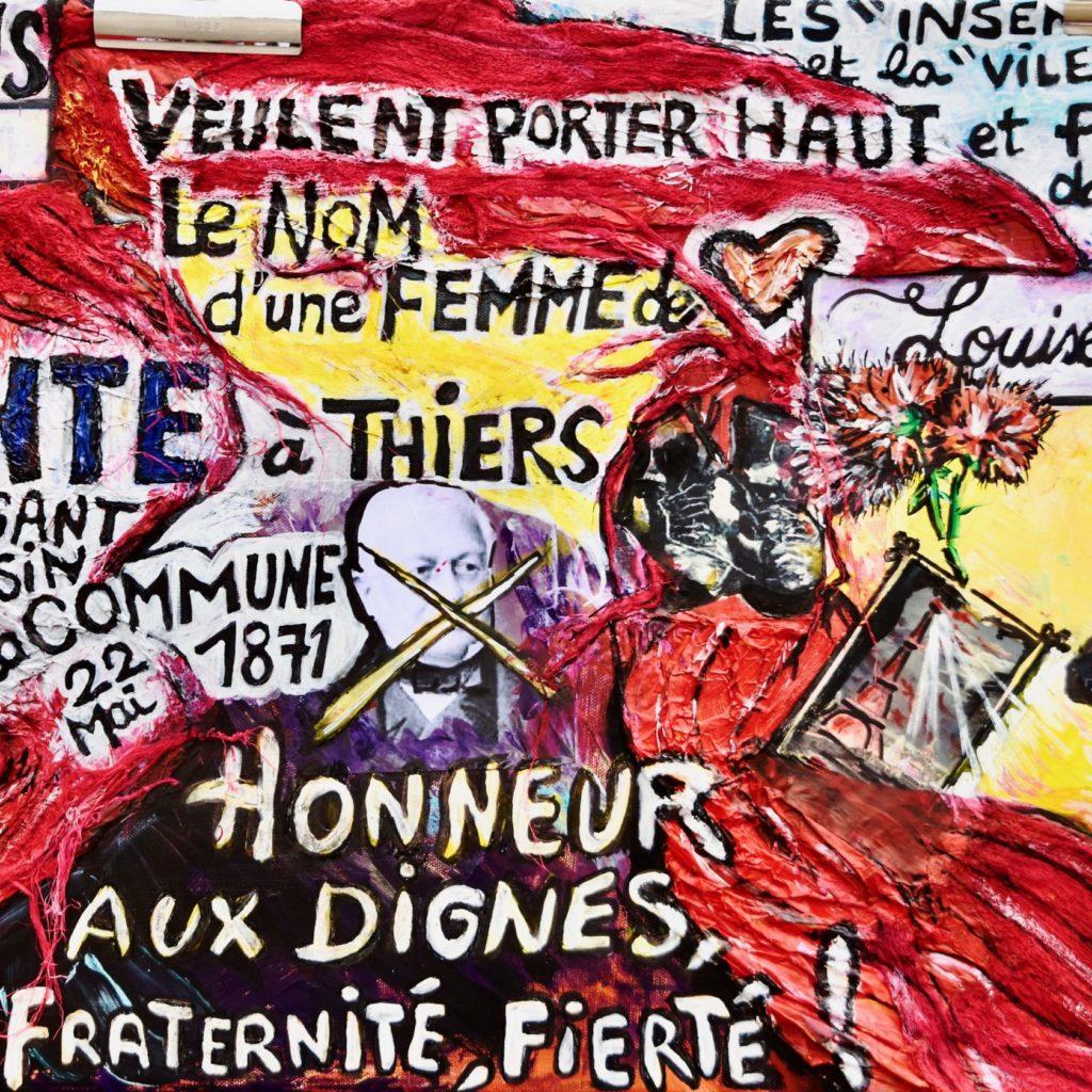 Louise Michel Thiers By Sandrine Daniel
